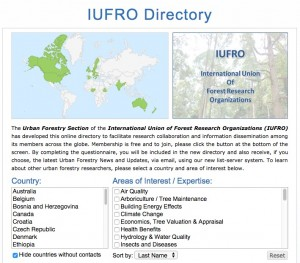 iufro website